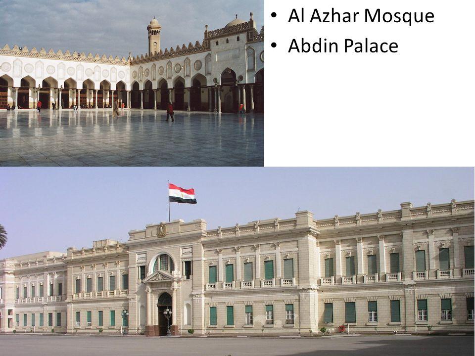Al Azhar Mosque Abdin Palace