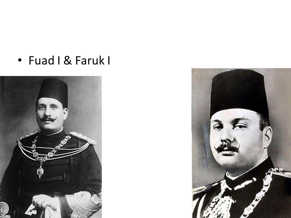 Fuad I & Faruk I