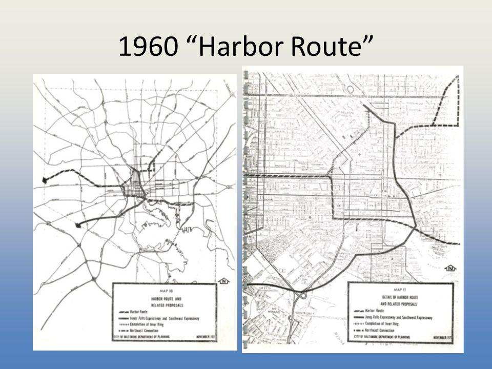 """1960 """"Harbor Route"""""""