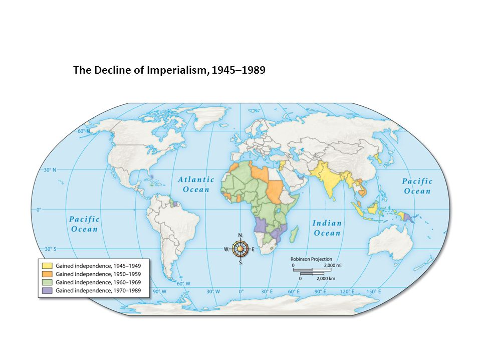 The Decline of Imperialism, 1945–1989