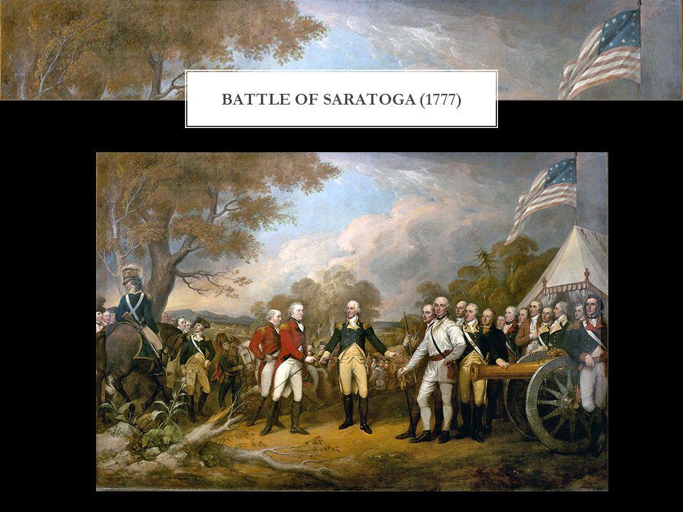 BATTLE OF SARATOGA (1777)