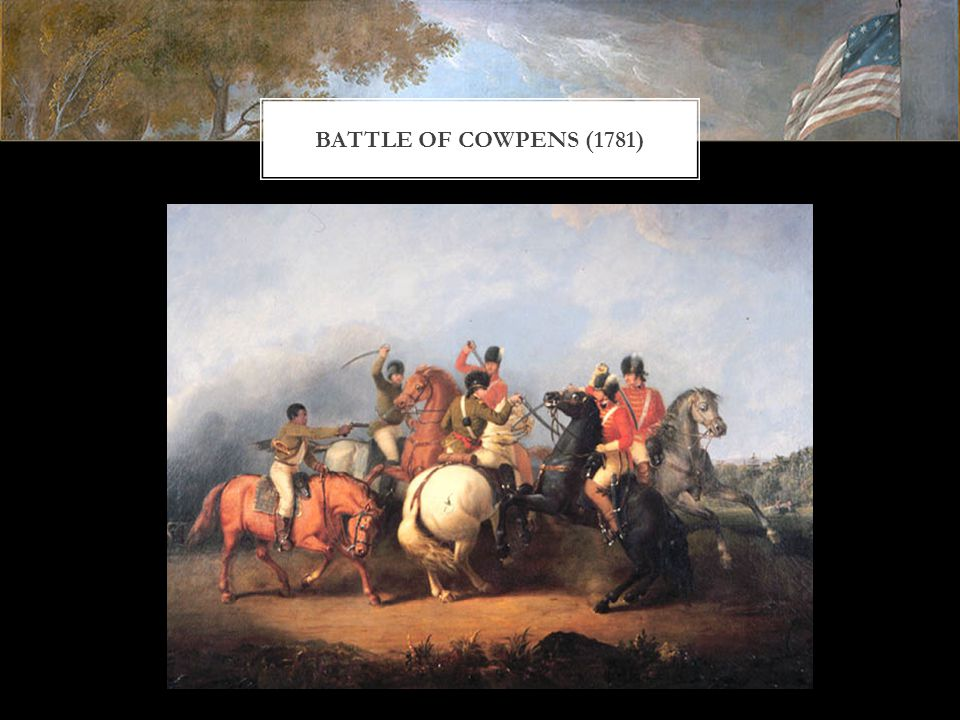BATTLE OF COWPENS (1781)