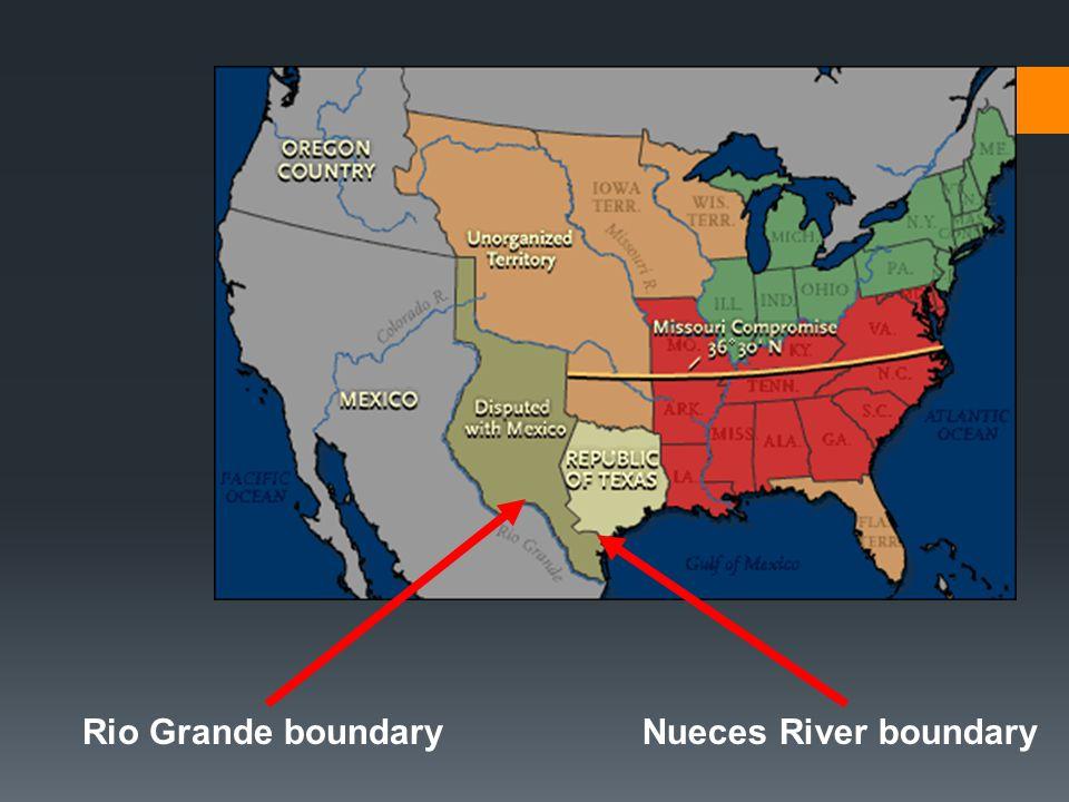 Nueces River boundaryRio Grande boundary