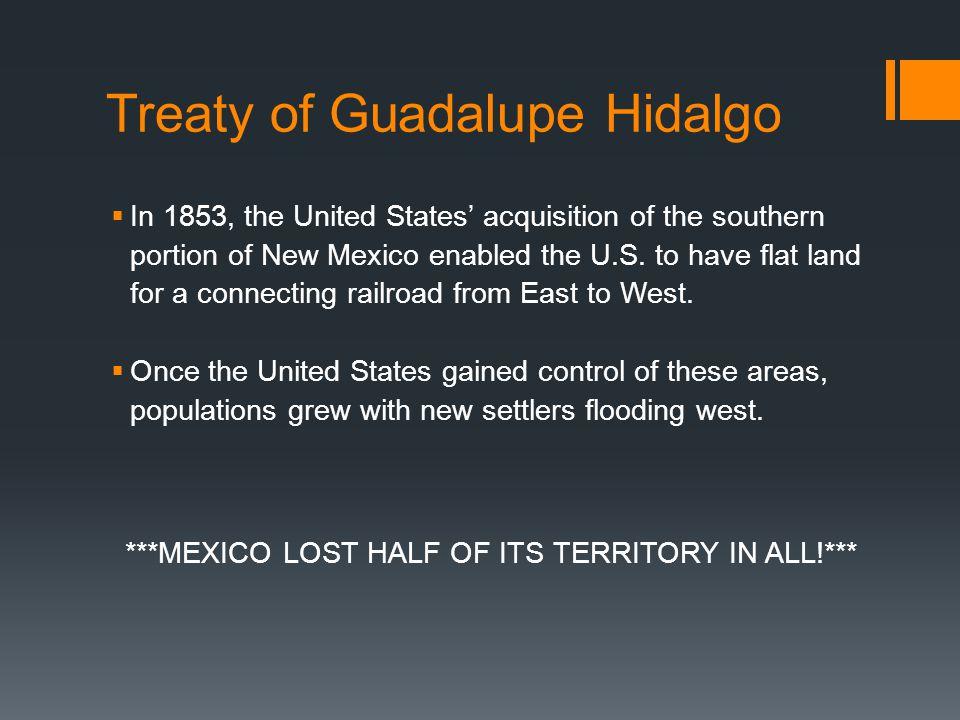 Treaty of Guadalupe-Hidalgo, 1848 Nicholas Trist, American Negotiator