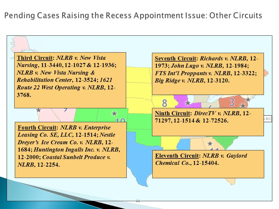 11 Third Circuit: NLRB v. New Vista Nursing, 11-3440, 12-1027 & 12-1936; NLRB v.