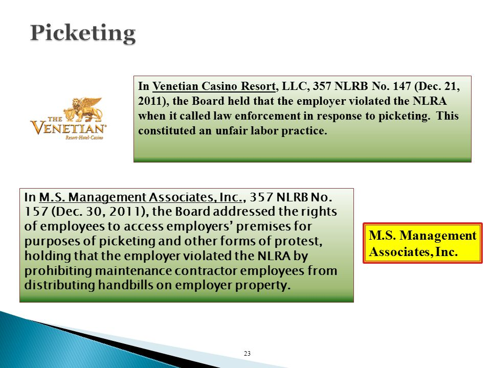 In M.S. Management Associates, Inc., 357 NLRB No.