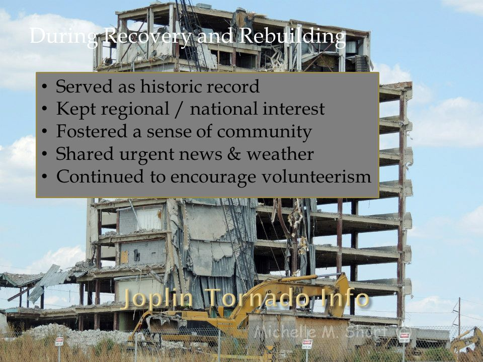 Served as historic record Kept regional / national interest Fostered a sense of community Shared urgent news & weather Continued to encourage volunteerism