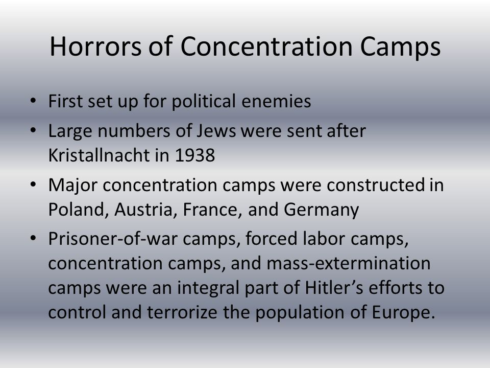 Hitler's reference to the Jewish problem The Final Solution was the extermination of all Jewish people The only way to restore Germany's purity and greatness The Nazis began a new system when they invaded Russia, which had a high Jewish population Any undesirable (Jew, Soviet official, Gypsy, disabled) would be rounded up and executed by mass shootings and buried in mass unmarked graves Some groups as large as 500 people