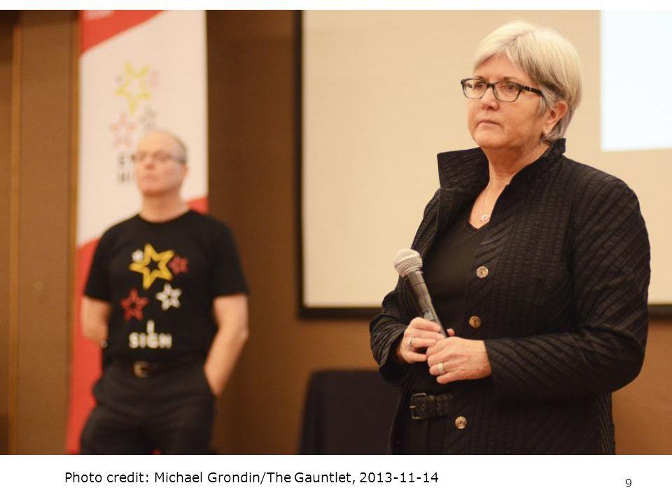 9 Photo credit: Michael Grondin/The Gauntlet, 2013-11-14