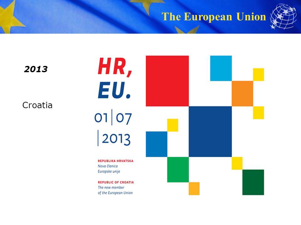 The European Union 2013 Croatia