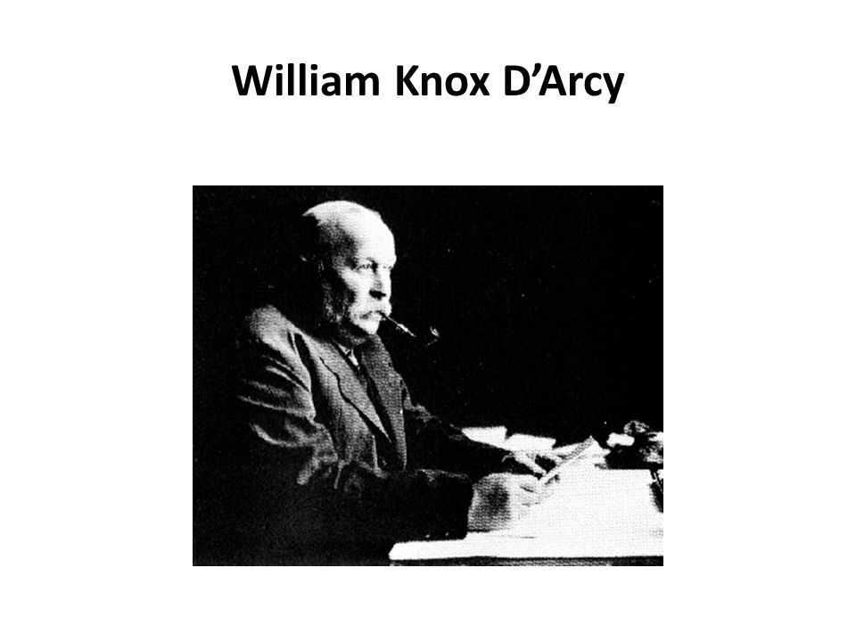 William Knox D'Arcy