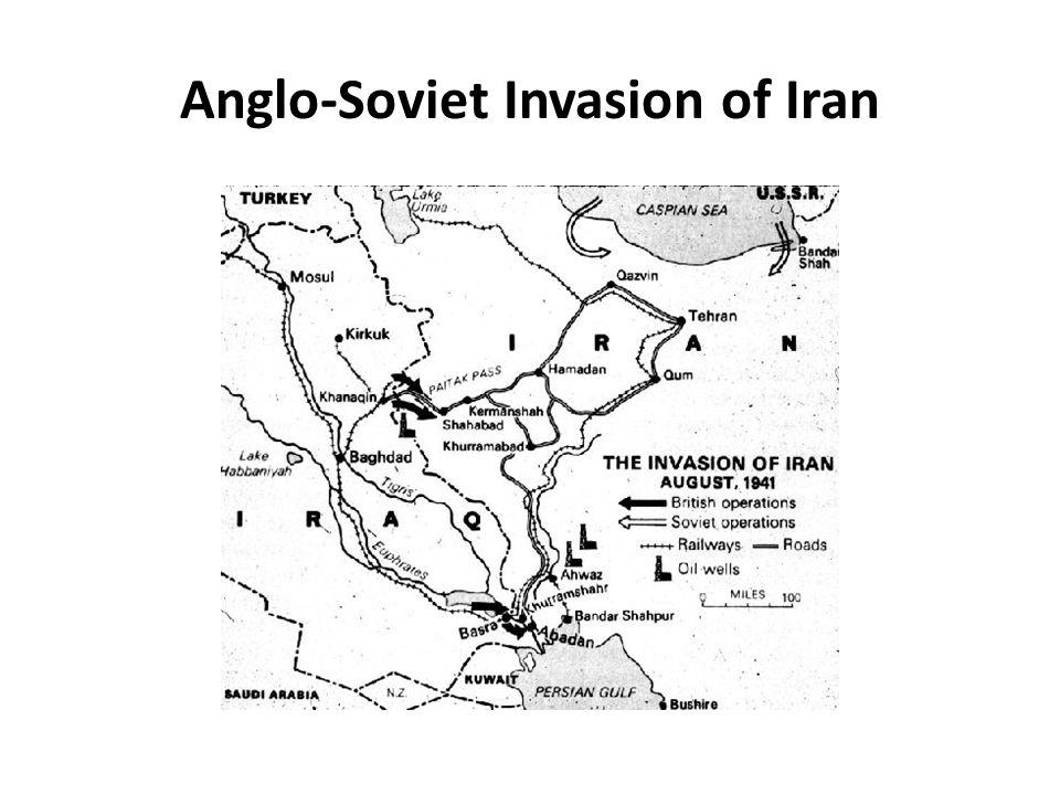 Anglo-Soviet Invasion of Iran