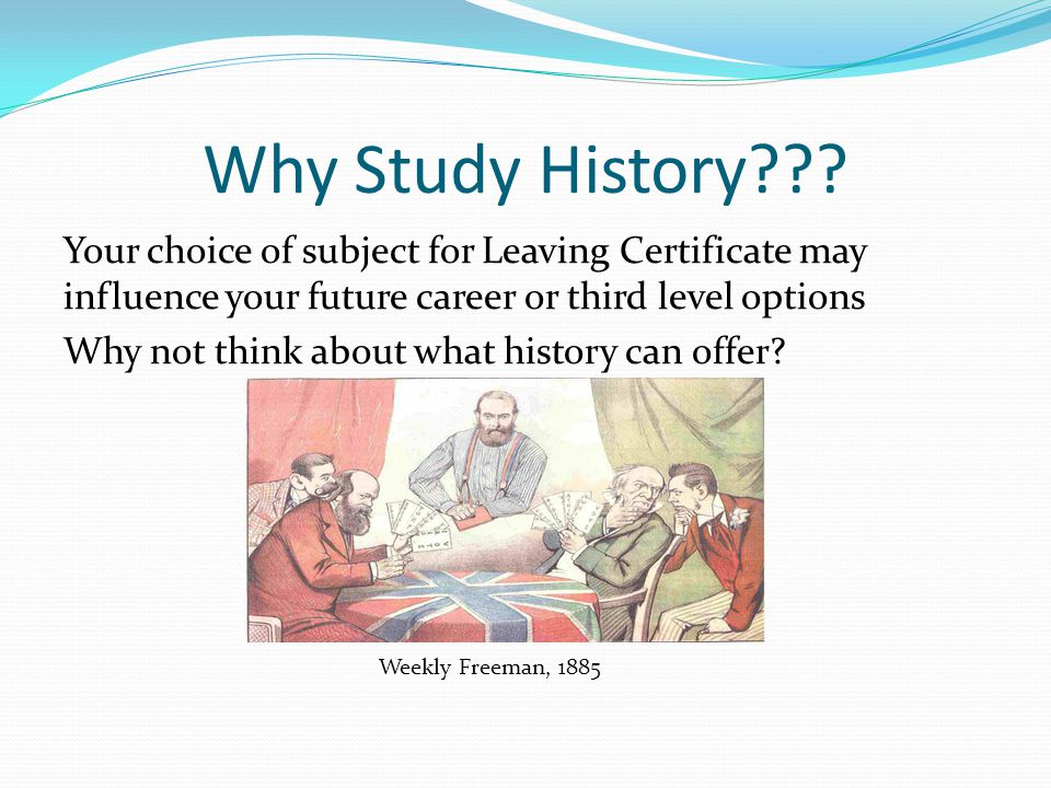 Why Study History .
