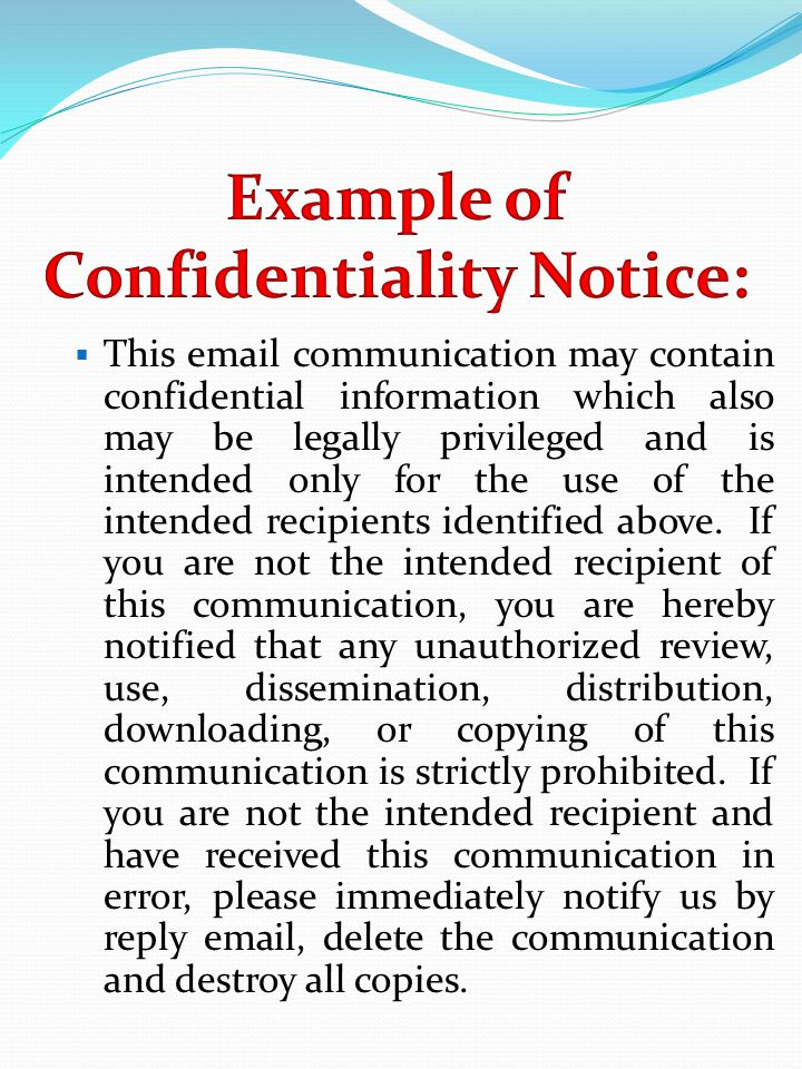  This email communication may contain confidential information which also may be legally privileged and is intended only for the use of the intended recipients identified above.
