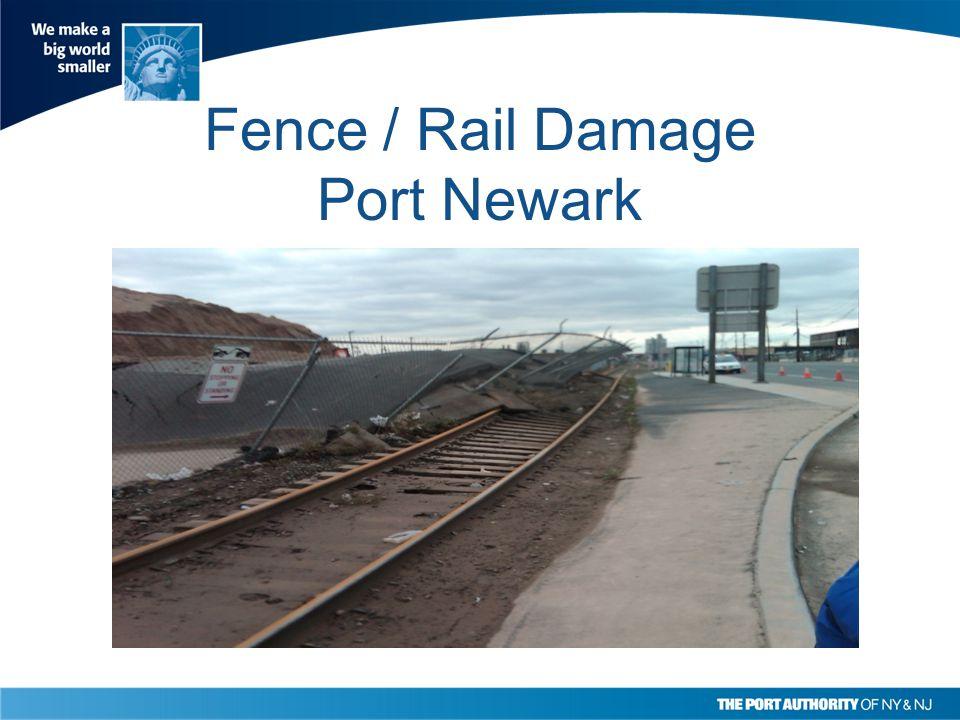 Fence / Rail Damage Port Newark