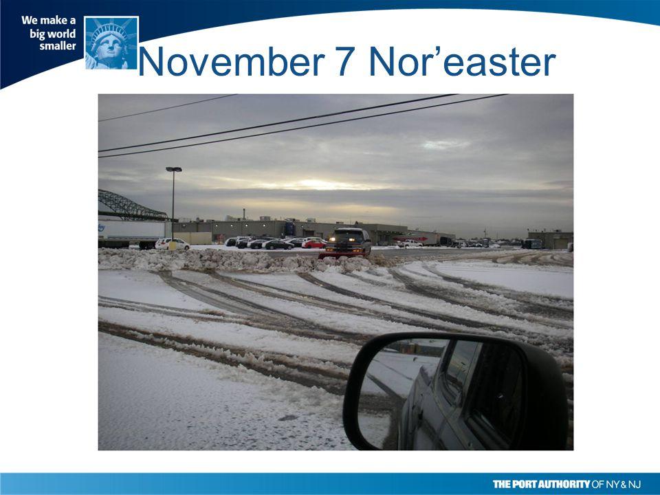 November 7 Nor'easter