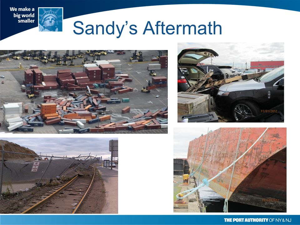 Damages Incurred Extensive infrastructure damage Cargo impacts Cruise Passenger Auto Damages Ancillary Effects