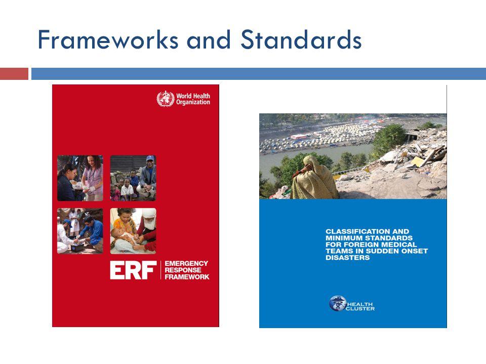 Frameworks and Standards