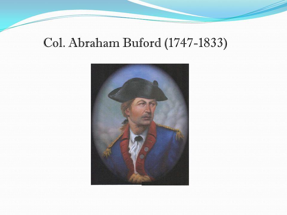 Col. Abraham Buford (1747-1833)