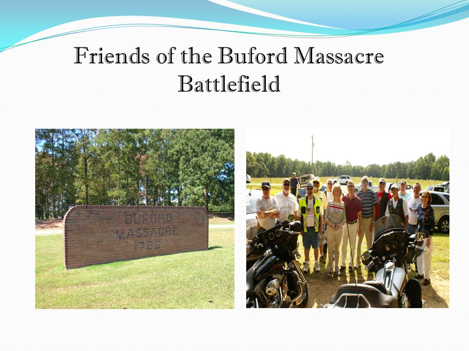 Friends of the Buford Massacre Battlefield