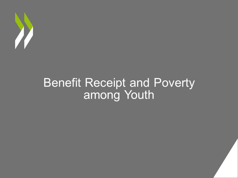 Benefit Receipt and Poverty among Youth