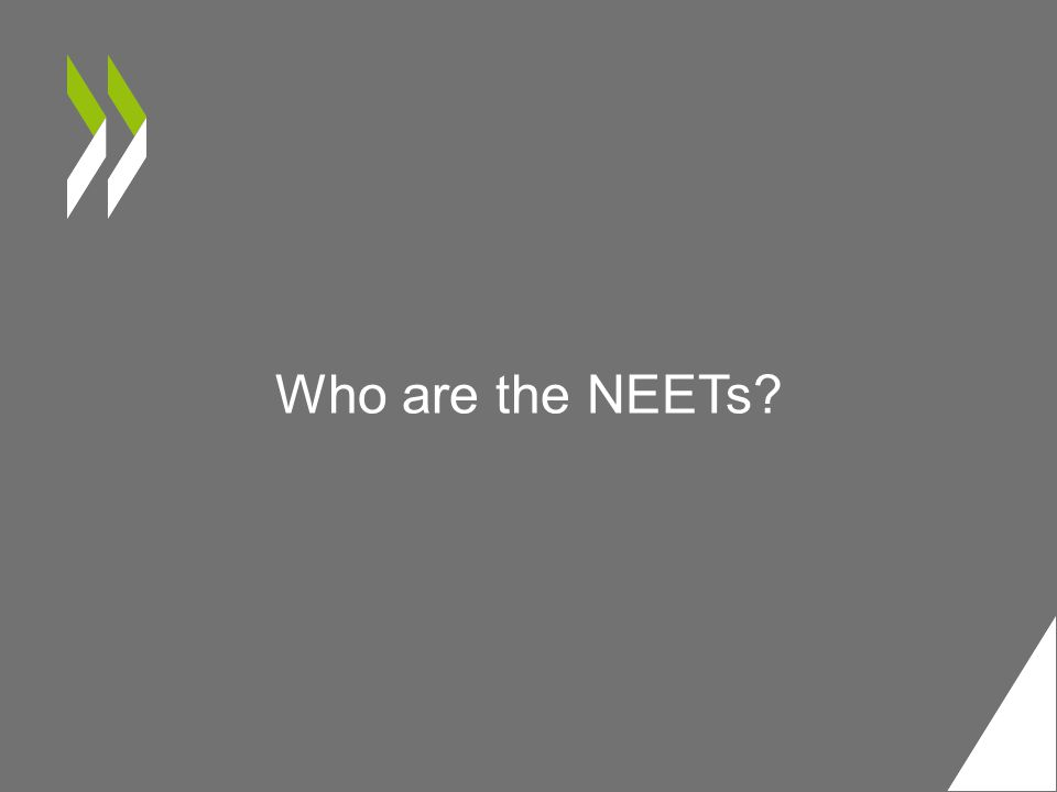 Who are the NEETs