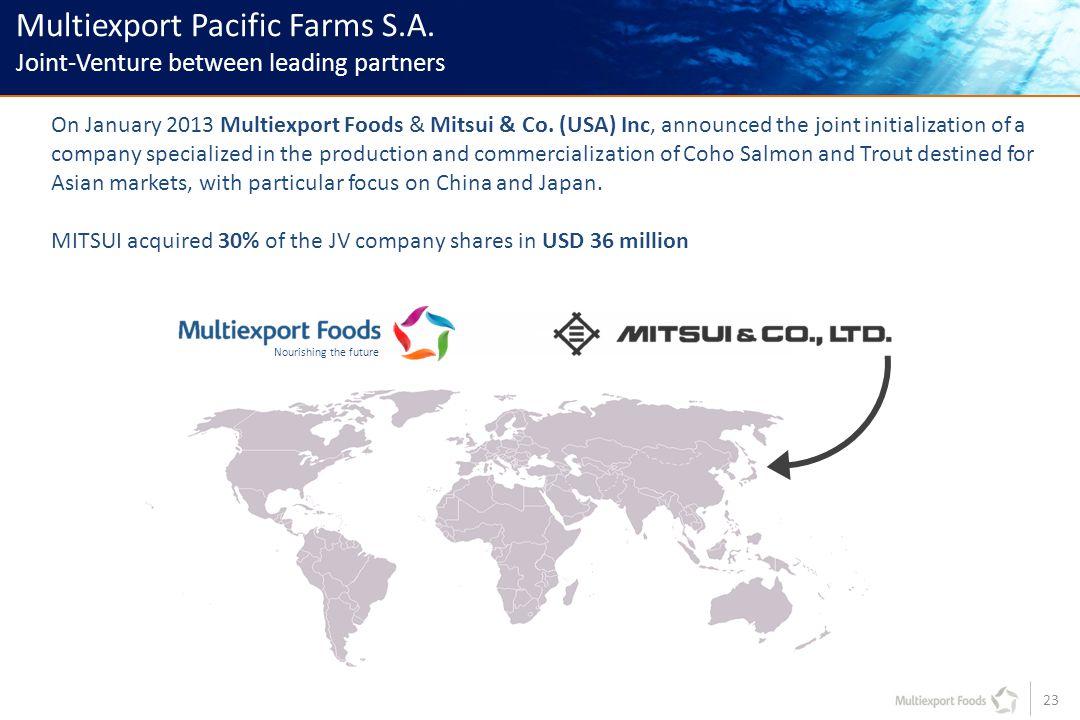 23 Multiexport Pacific Farms S.A.