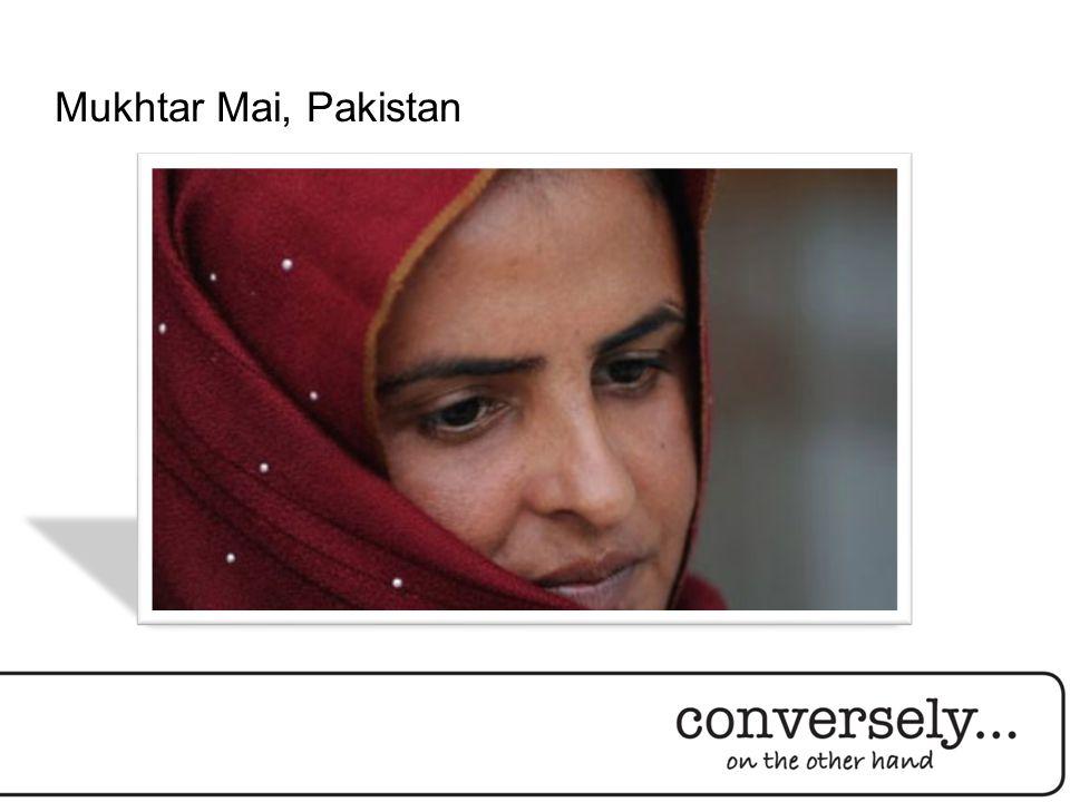 Mukhtar Mai, Pakistan