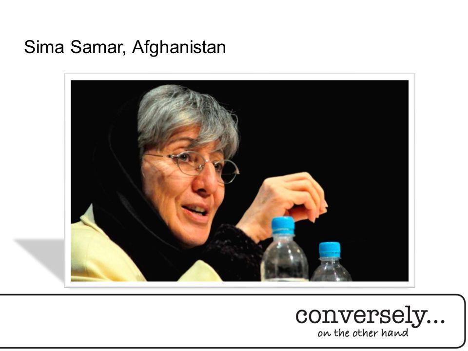 Sima Samar, Afghanistan