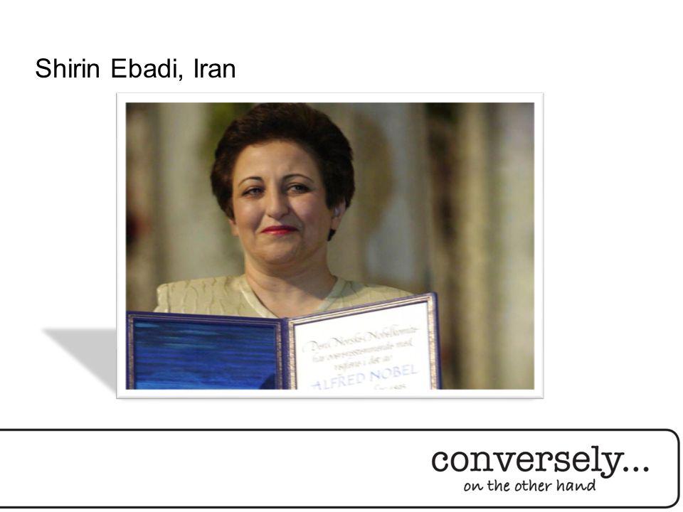 Shirin Ebadi, Iran