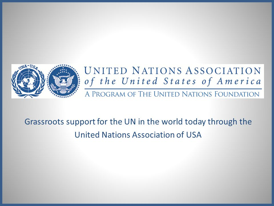 Member Benefits Be a driving force in supporting the United Nations.