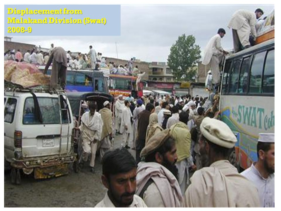 RAPID Fund presentation for Effective Development Conference, Bangkok Displacement from Malakand Division (Swat) 2008-9