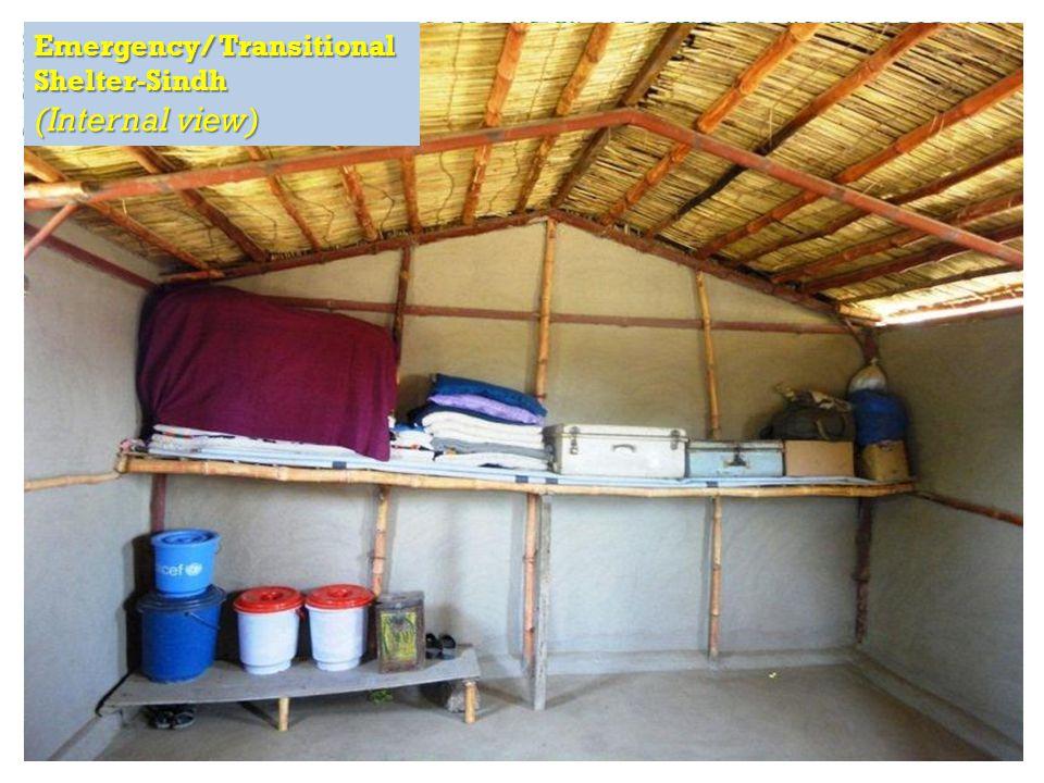 RAPID Fund presentation for Effective Development Conference, Bangkok Emergency/ Transitional Shelter-Sindh (Internal view)
