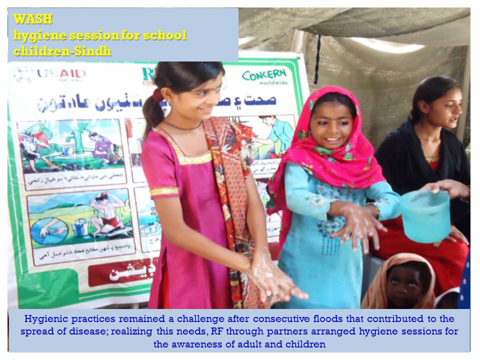 RAPID Fund presentation for Effective Development Conference, Bangkok WASH hygiene session for school children-Sindh Hygienic practices remained a cha