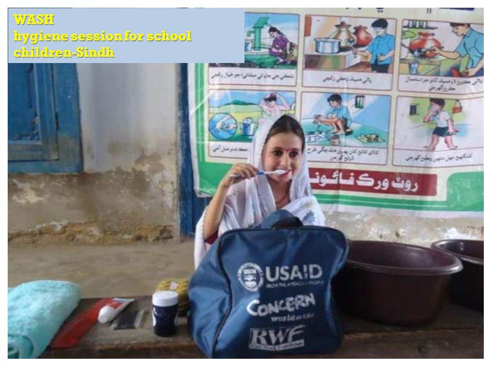 RAPID Fund presentation for Effective Development Conference, Bangkok WASH hygiene session for school children-Sindh