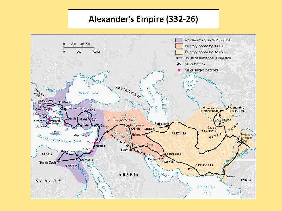 Alexander s Empire (332-26)