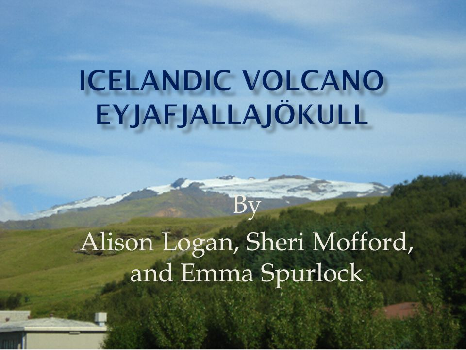 Meteorological Institute of Iceland  Silica concentration of 58%  Contamination of Water  Ash fall brings farming to a halt