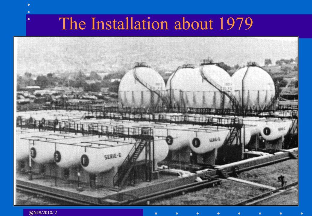 @NJS/2010/ 3 Pemex LPG and Surroundings Pemex LPG Facility SCALE - 1: 20,000