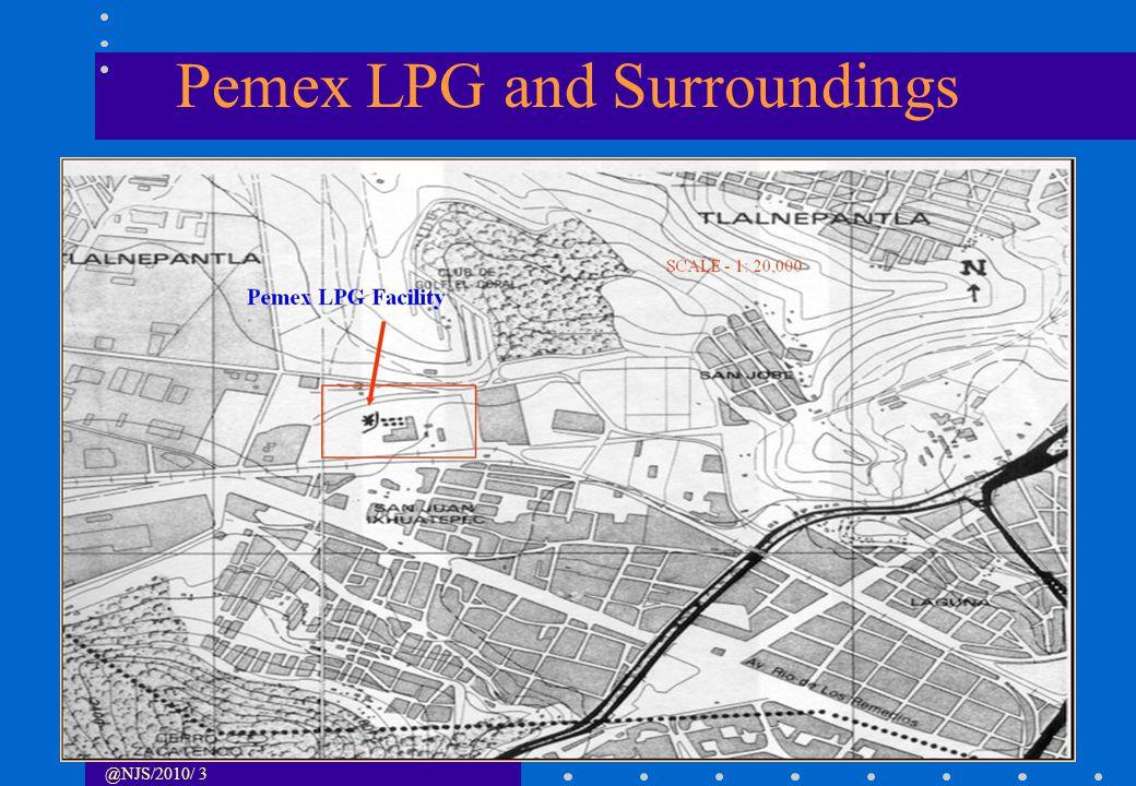 @NJS/2010/ 4 Pemex LPG PEMEX LPG Installation SCALE 1 : 2200