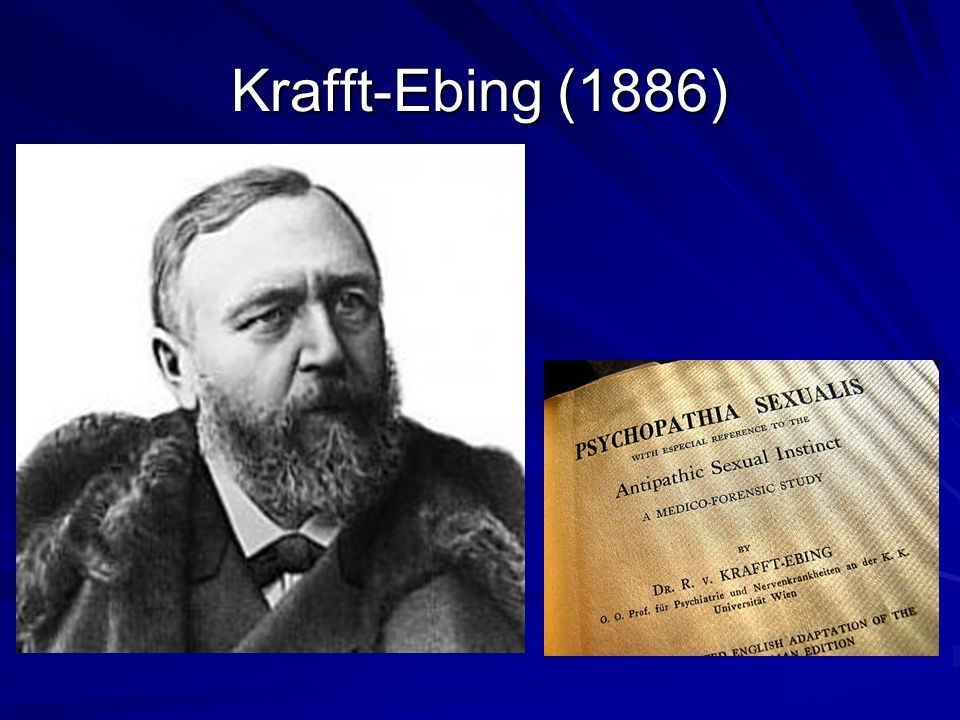Krafft-Ebing (1886)