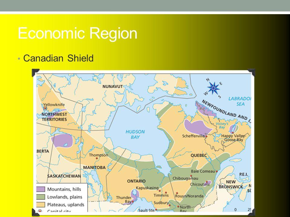 Economic Region Canadian Shield