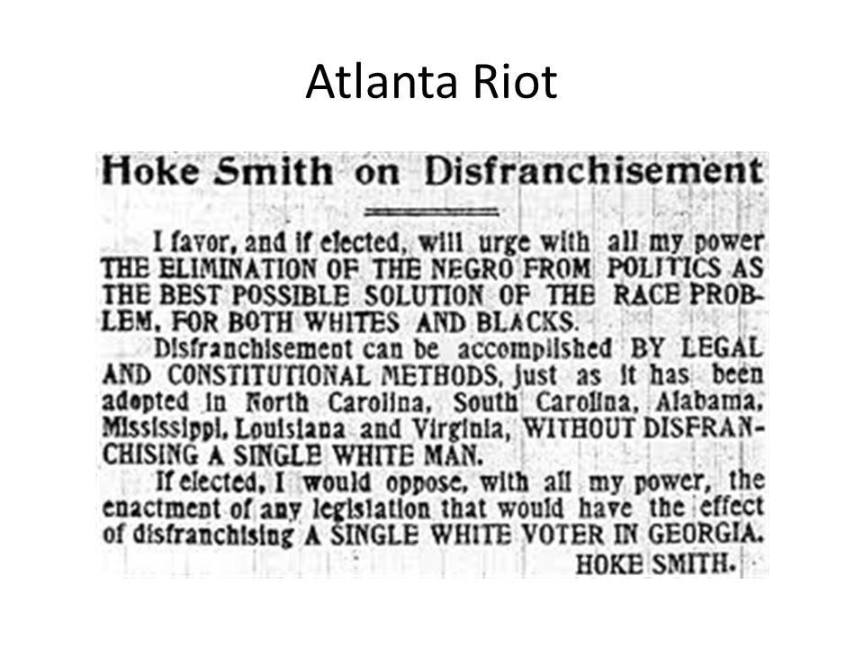 Atlanta Riot
