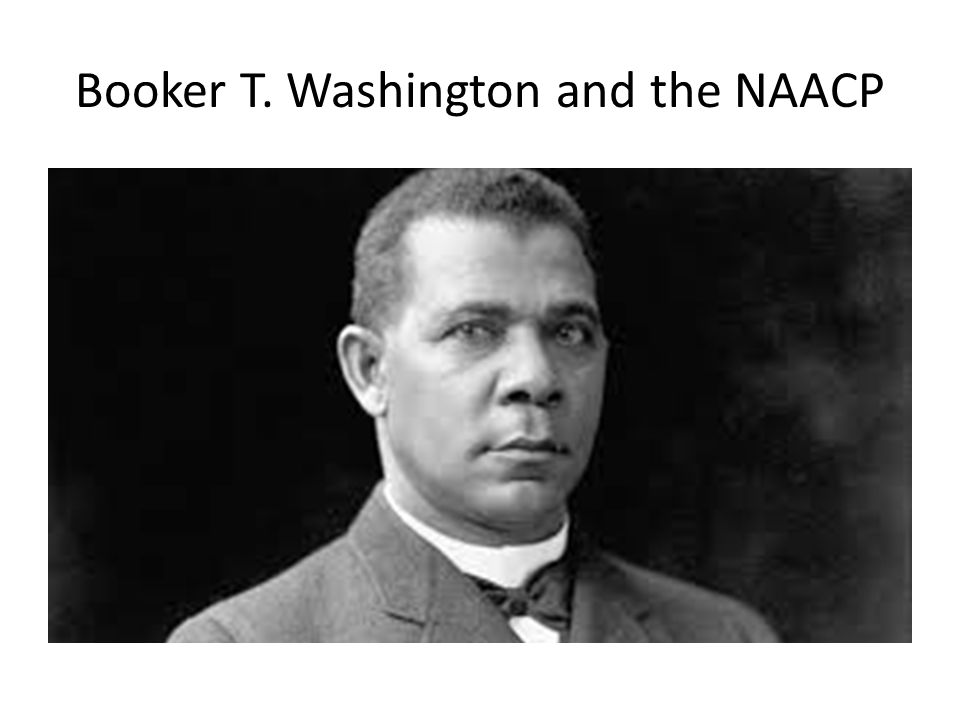 Booker T. Washington and the NAACP