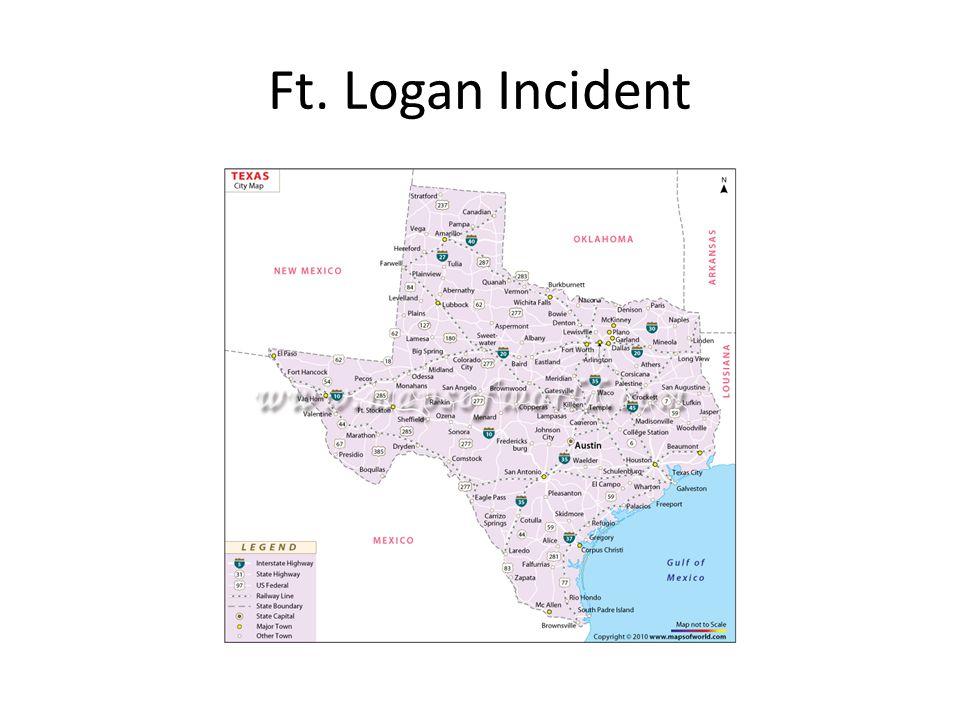 Ft. Logan Incident