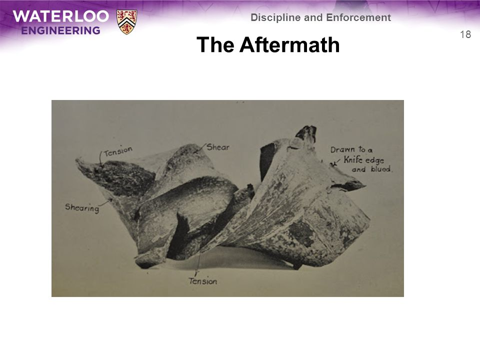 The Aftermath Discipline and Enforcement 18