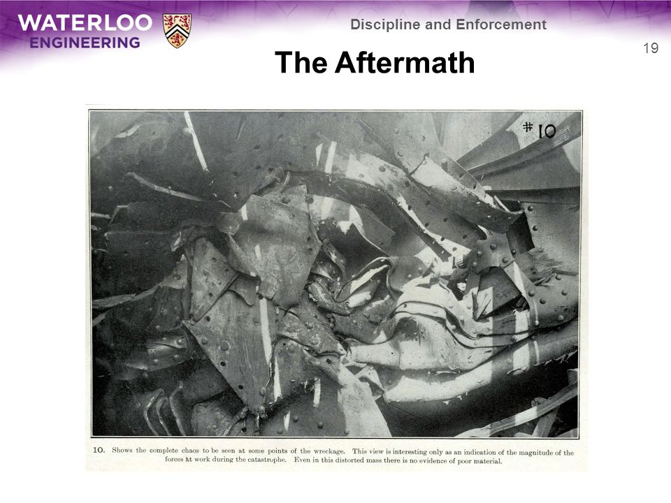 The Aftermath Discipline and Enforcement 19