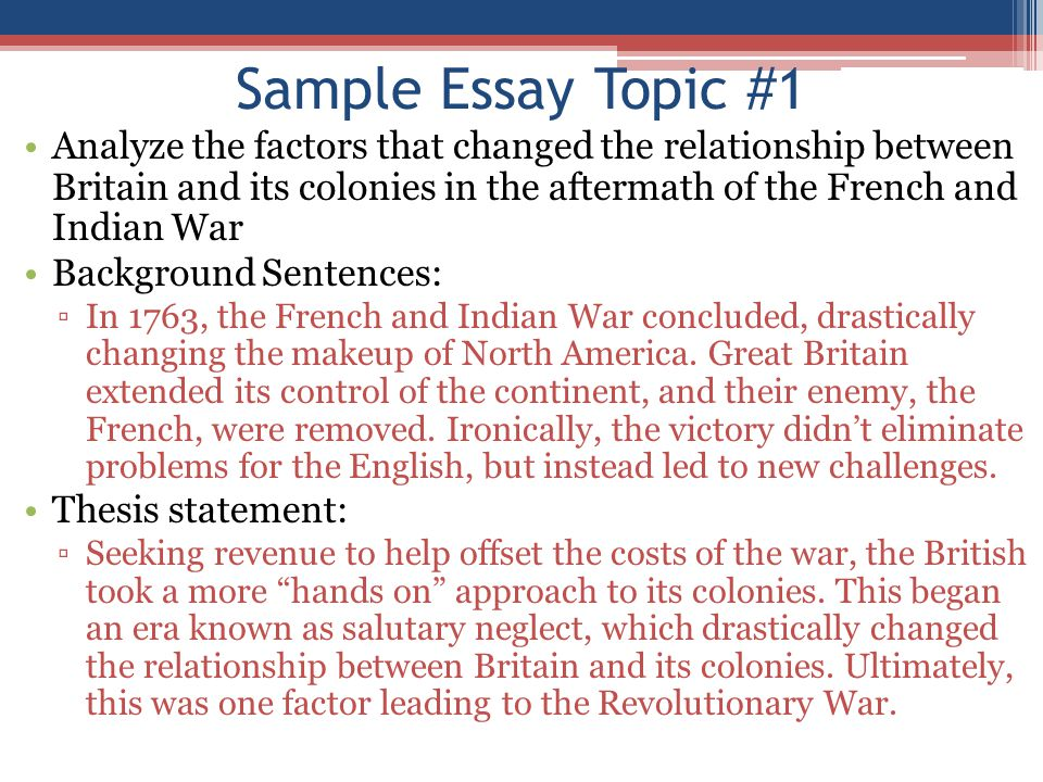 Successful Learning: Writing an Introduction for an Essay