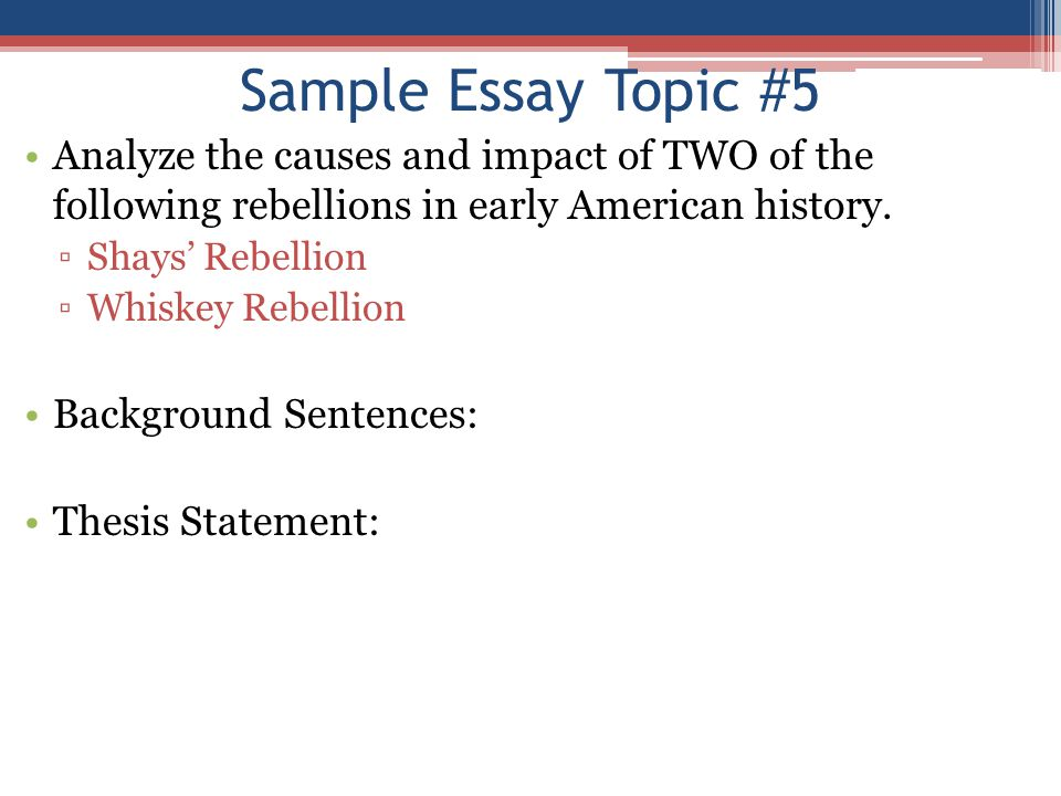 essay questions about american history The two documents below both list hundreds of ap us history essay questions the first document includes all of the real ap us history exam.