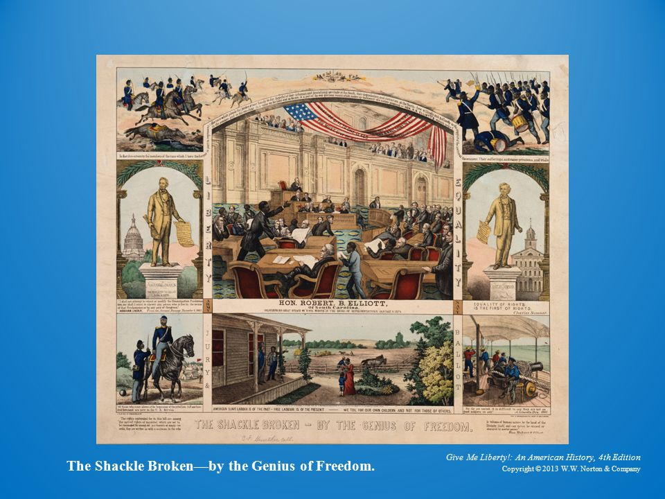 Radical Reconstruction in the South: Black Political activity The Tocsin of Freedom The Black Officeholder