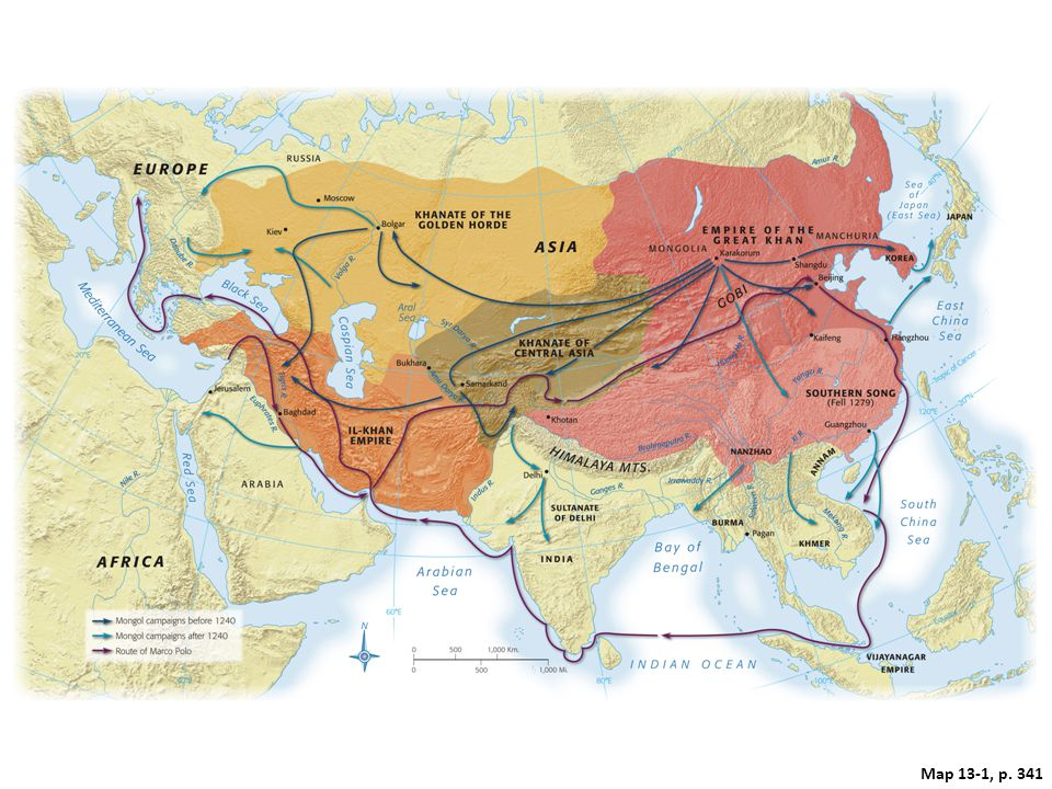 Target: The Rise of the Mongols (1200-1260) Nomadism in Central and Inner Asia – Pastoralists – Councils ratified decisions of the khan – Slaves – Weak groups paid tribute for land and protection.